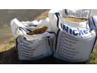 1 and one half Jumbo Bags sand and stone Building Ballast