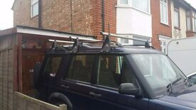 Landrover Discovery 1 and 2 Rhino Roof Bars