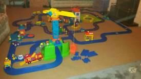 Huge ELC train set village only £25