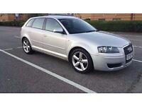 Audi A3 TDI ,2008, Diesel,1.9,HPI clear, New MOT,Only 37000 miles,5 doors