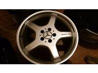 Mercedes R18 AMG alloys wheels