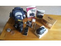 Nikon D50 camera PLUS loads of extras! Excellent condition. Bargain