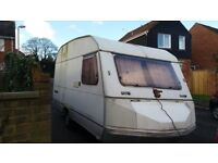 Touring caravan cheap