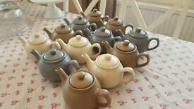 Job lot of teapots