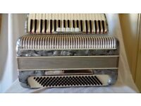 BELLINI 120 BASS 4 VOICE PIANO ACCORDION ITALIAN 1950s
