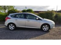 FORD FOCUS 1.0 EcoBoost Edge 5dr 1 Yrs Mot Fully Serviced + Warranted A Nice Car (silver) 2013