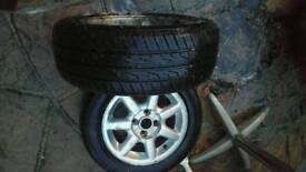 Vw Golf wheels 15 inch 4 stud.