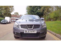 2008 57 Nissan Qashqai Automatic Petrol with Leather seats