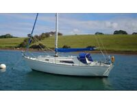 HALMATIC 30 EXCELLENT LONG KEEL CRUISER, RECENT ENGINE £14500