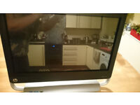 HP Touchsmart 520 PC, CORE i5, Windows 7, for spares or repair