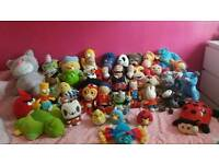 Large selection of teddys