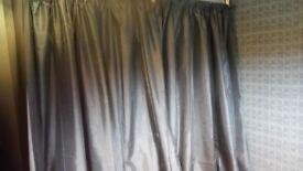 Curtains , pole and hooks