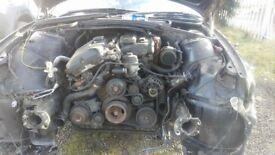 BMW E46 M-sport 2003 3.0 petrol engine with gearbox