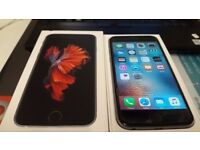 APPLE IPHONE 6S- 32GB- SPACE GREY- EE NETWORKS- LIKE NEW-