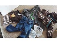 Baby boy 12-18 clothes bundle