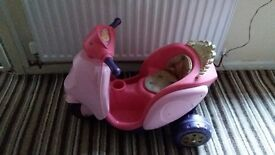 Princess electric scooter