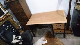 MCM teacher's desk