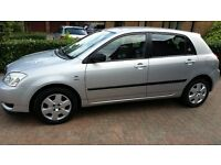 Toyota corolla only 44k wont be disappointed