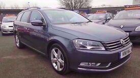 VW PASSAT 2.0 TDI SE BLUEMOTION TECH ESTATE 6 SPEED 2011 / £30 ROAD TAX / FULL SERVICE HISTORY