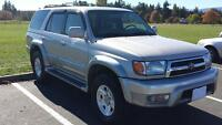 1999 TOYOTA 4RUNNER LIMITED **MINT CONDITION**