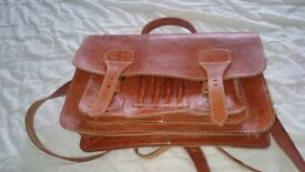 Ladies leather satchel for sale