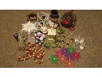 Bundle of christmas decoration...