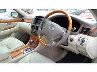 Lexus LS430 - Super high end luxury saloon - 4.3litre V8