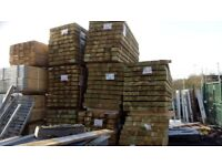 Sleepers 100mm X 200mm X 2400mm 8ft long treated DELIVERY AVAILABLE!
