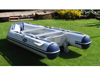 Seago 280 Hypalon Airdeck - 4 man dinghy