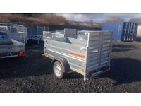 New Trailer car (6 x 4 x 2,17) double broadside and ramp - £750 inc vat