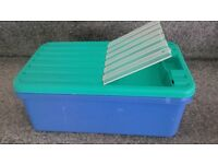 Decor Flask cooled plastic lunch box