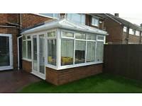 4m x 3.1m used upvc conservatory