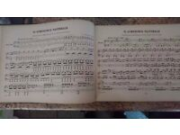 Antique Beethovens Symphonies Music Book