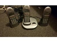 Bt trio cordless digital house phones