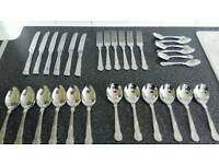 30 piece Kings pattern cutlery set - £10 - Glenrothes