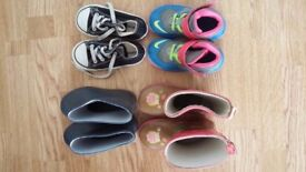 Girl shoes - Bundle size 7.5/8