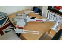 Large star wars x wing fighter