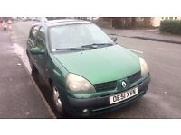 2002 1.4 Renault Clio - AUTOMATIC 5 Door with Low Mileage! 07595976330