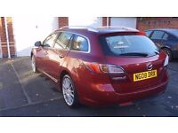 Mazda 6 estate SL 2.0D - great car! Full size spare wheel + 4 winter tyres!