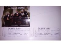 Ukelele Orchestra GB Edinburgh 2 Tickets Friday 18th May 2018 FOR SALE