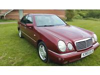 Mercedes E240 Avantgarde 1999 **LOW MILES**