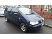 Volkswagen VW Sharan left hand drive lhd 1.9 tdi, one year mot, pl insurance