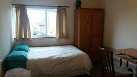 Double room in cosy home with fur