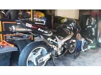 K2 Suzuki GSXR 600 trackbike