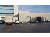 2373 SqFt. Warehouse in Slough to Rent - Newly Renovated - ELECTRIC SHUTTER
