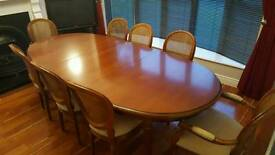 8ft Oval Dining Table