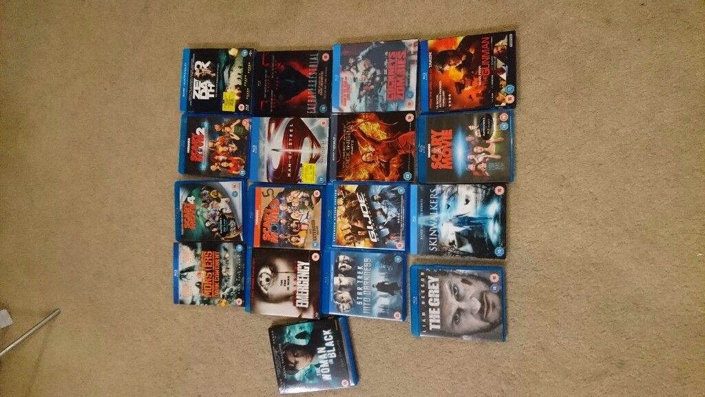 17 blu-ray dvds for sale