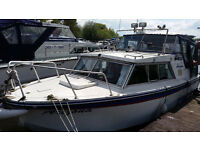 Birchwood 23ft Boat .... Good runner...Brand new canopy....Based at Colwick, nottingham