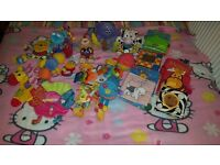 Bundle of baby soft toys