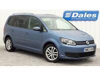 Volkswagen Touran SE 1.6 BlueTech TDI 7 seat (blue) 2014